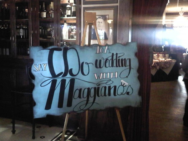 Say I Do to a wedding with Maggianos